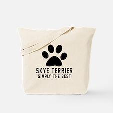Skye Terrier Simply The Best Tote Bag