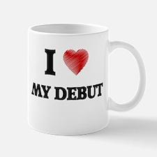 I Love My Debut Mugs