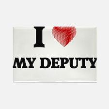 I Love My Deputy Magnets