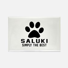 Saluki Simply The Best Rectangle Magnet (10 pack)