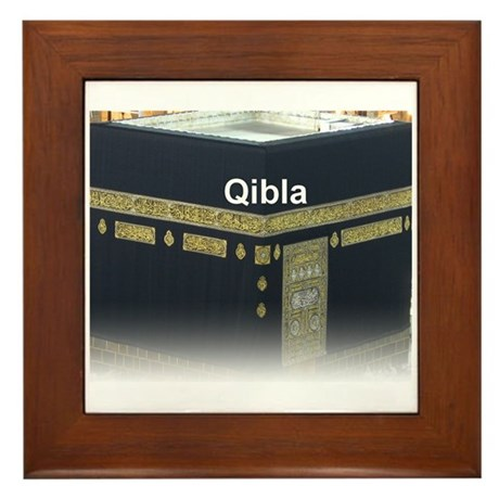 Qibla Framed Tile