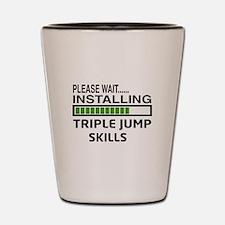 Please wait, Installing Triple Jump Ski Shot Glass