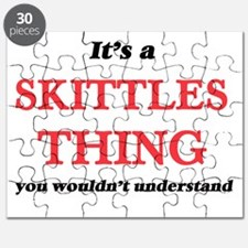 It's a Skittles thing, you wouldn't Puzzle