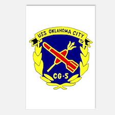 USS Oklahoma City (CG 5) Postcards (Package of 8)