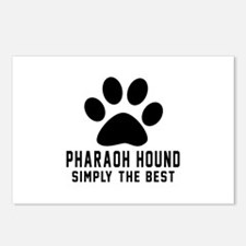 Pharaoh Hound Simply The Postcards (Package of 8)