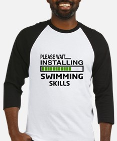 Please wait, Installing Swimming S Baseball Jersey