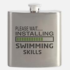 Please wait, Installing Swimming Skills Flask