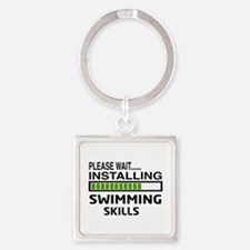 Please wait, Installing Swimming S Square Keychain