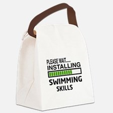 Please wait, Installing Swimming Canvas Lunch Bag