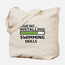 Please wait, Installing Swimming Skills Tote Bag