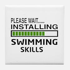 Please wait, Installing Swimming Skil Tile Coaster
