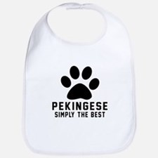 Pekingese Simply The Best Bib