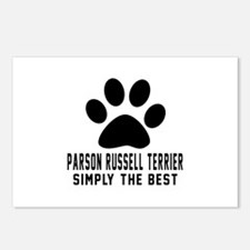 Parson Russell Terrier Si Postcards (Package of 8)