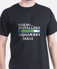 Please wait, Installing Squash Skills T-Shirt