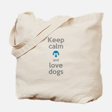 Funny Keep calm and shop Tote Bag
