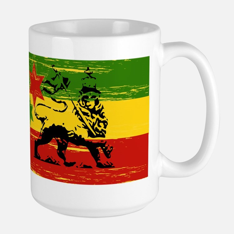 Rasta Lion Of Judah Herbal Tea Mugs