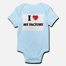 I Love My Factory Body Suit