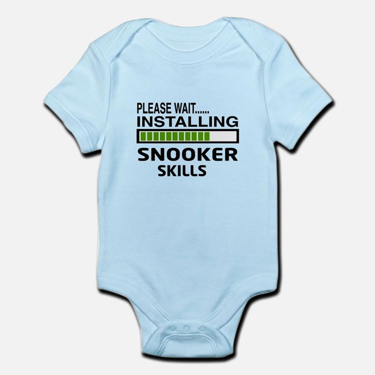Please wait, Installing Snooker Sk Infant Bodysuit