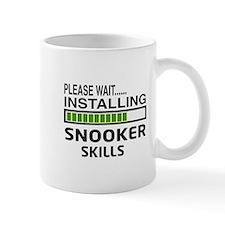 Please wait, Installing Snooker Skills Small Small Mug