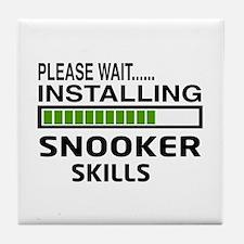 Please wait, Installing Snooker Skill Tile Coaster