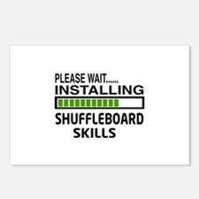 Please wait, Installing S Postcards (Package of 8)