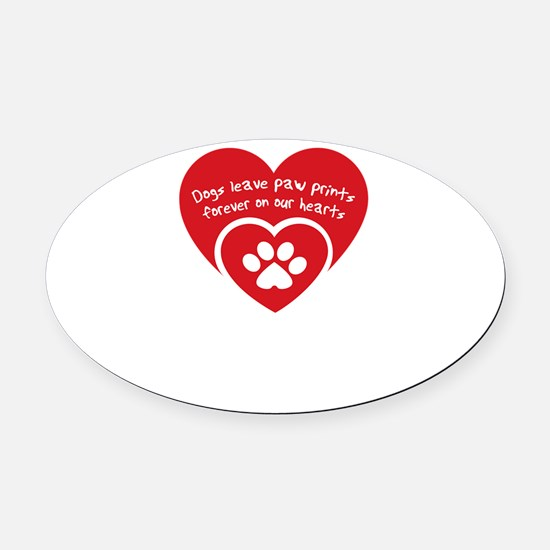 Cool Rescue Oval Car Magnet