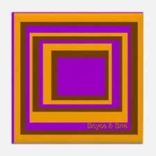 Boyce & Brie Mod-Box Tile Coaster