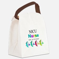 NICU Nurse Canvas Lunch Bag