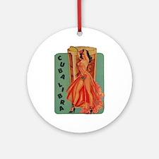 Cuba Libra Ornament (Round)