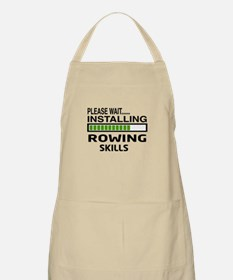 Please wait, Installing Rowing Skills Apron