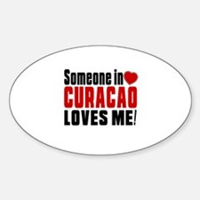 Someone In Curacao Loves Me Decal