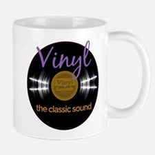 Classic Vinyl Record Mugs