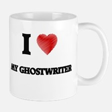 I Love My Ghostwriter Mugs