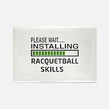 Please wait, Installing Racquetba Rectangle Magnet