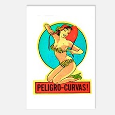 Dangerous Curves Postcards (Package of 8)