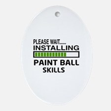 Please wait, Installing Paintball Sk Oval Ornament