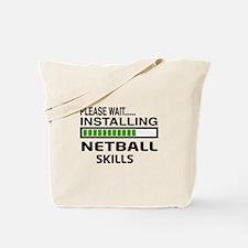 Please wait, Installing Netball Skills Tote Bag