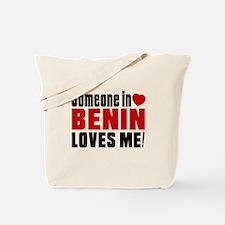 Someone In Benin Loves Me Tote Bag