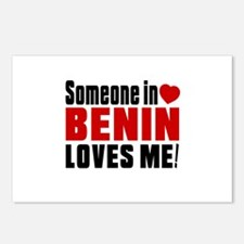 Someone In Benin Loves Me Postcards (Package of 8)