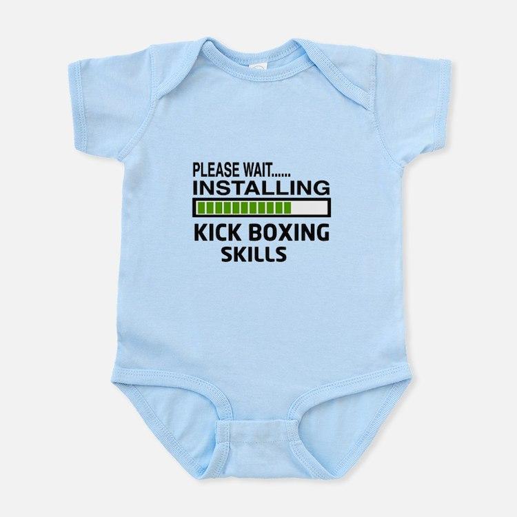 Please wait, Installing Kickboxing Infant Bodysuit