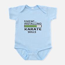 Please wait, Installing Karate Ski Infant Bodysuit