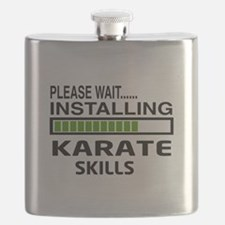 Please wait, Installing Karate Skills Flask