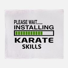 Please wait, Installing Karate Skill Throw Blanket