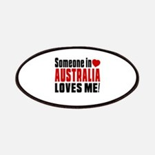 Someone In Australia Loves Me Patch