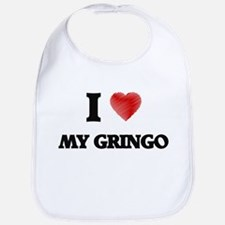 I Love My Gringo Bib