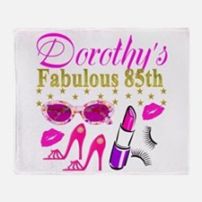 85TH PERSONALIZED Throw Blanket