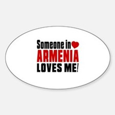 Someone In Armenia Loves Me Decal
