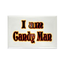Halloween Candy Man Rectangle Magnet