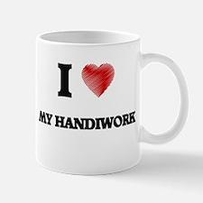 I Love My Handiwork Mugs