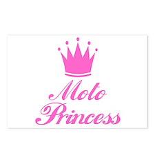 BikerBaby Moto Princess Postcards (Package of 8)